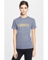 Rodarte 'Radarte' Short Sleeve Crewneck Tee - Lyst