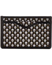 Alexander McQueen M Card Holder - Lyst