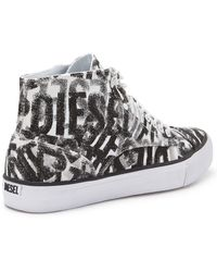 Diesel Persis Mid Lace High Tops - Lyst
