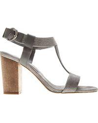 Lola Cruz Embellished Sandals - Lyst