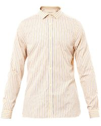 Burberry Slim Fit Striped Shirt - Lyst