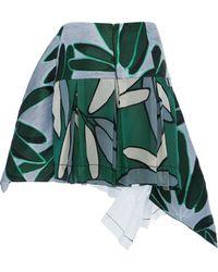 Marni Candlestick Jacquard Mini Skirt - Lyst