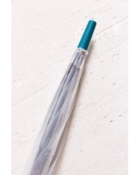 Hunter Colorblock Bubble Umbrella - Lyst