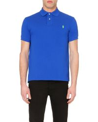 Ralph Lauren Cotton-Piqué Polo Shirt - For Men - Lyst