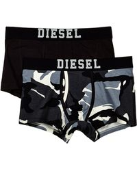 Diesel Black Trunks 00sd1lumbxsemakotwopack - Lyst