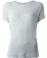 By Malene Birger Short Sleeve Sweater - Lyst
