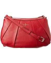 Cole Haan Adele Pleated Crossbody - Lyst