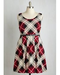 ModCloth | Posh Prominence Dress | Lyst