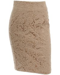 Burberry Lace Skirt - Lyst