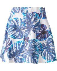 Gaëlle Bonheur - Leaf A-Line Skirt - Lyst