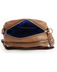 BOSS Orange - Chain Strap Leather Cross Body Bag - Lyst