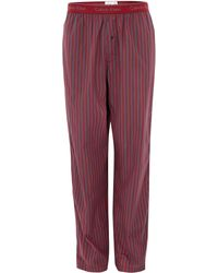 Calvin Klein | Woven Junior Striped Trousers | Lyst
