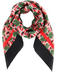 Marc By Marc Jacobs Printed-Scarf - Lyst