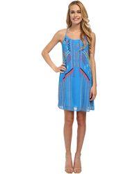 Nanette Lepore Got Rhythm Dress blue - Lyst