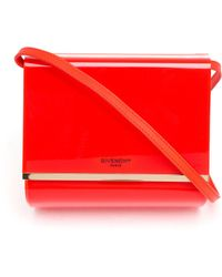 Givenchy Micro Pandora Plexiglass Box Bag - Lyst