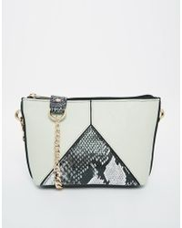 Asos Color Block Cross Body Bag - Lyst