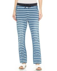 Sass & Bide Facing North Striped Pants - Indigo - Lyst