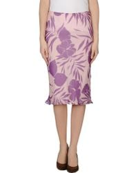 Paul & Joe 3/4 Length Skirt - Lyst