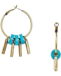 Giles & Brother Stone Fringe Earring - Lyst
