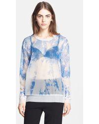 Alexander Wang Women'S Tie Dye Top - Lyst