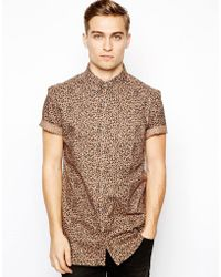 French Connection Shirt Short Sleeve - Lyst