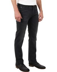 7 For All Mankind Luxe Performance Slimmy Slim Straight in Washed Sulfur - Lyst
