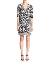 Diane von Furstenberg Tallulah Silk Jersey Wrap Dress - Lyst