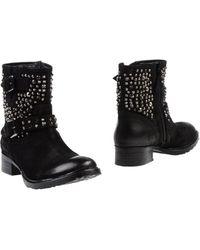 Lola Cruz Ankle Boots - Lyst