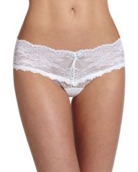 Hanky Panky Phoebe Low-Rise Lace Thong - Lyst