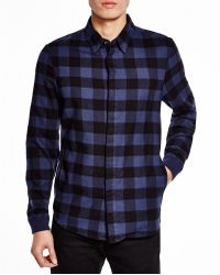 Alternative Apparel - Expedition Yarn Dye Regular Fit Flannel Button Down Shirt - Lyst