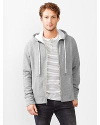 Gap Lived-in Heavyweight Fleece Hoodie - Lyst