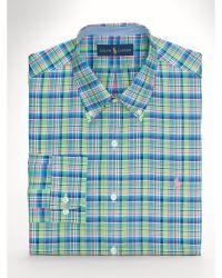 Ralph Lauren Plaid Sport Shirt - Lyst