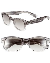 Converse - 'lineup' 50mm Retro Sunglasses - Lyst