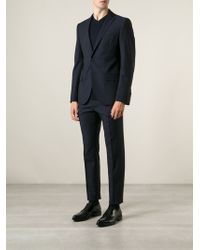 Christian Lacroix Blue Two-piece Suit - Lyst