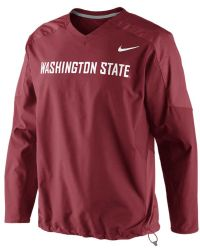 Nike Mens Washington State Cougars Drifit Pullover Wind Jacket in ...