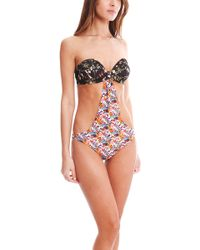 Roseanna Cara One Piece Swimsuit multicolor - Lyst