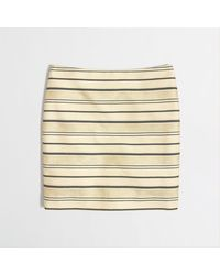 J.Crew  Shiny Stripe Mini - Lyst