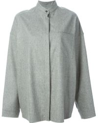 Haider Ackermann Oversized Shirt - Lyst