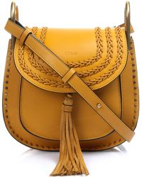 Chloé - Hudson Small Leather Cross-Body Bag - Lyst
