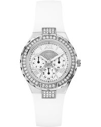 Guess - Ladies Sparkling High Energy Midsize Watch - Lyst