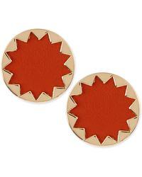 House Of Harlow Sunburst Button Stud Earrings - Lyst