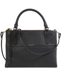 COACH - The Borough Black Leather Cross-Body Bag - Lyst
