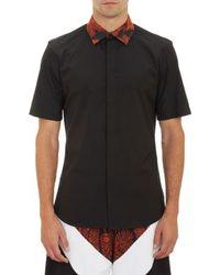 Givenchy Paisley-collar Poplin Shirt - Lyst