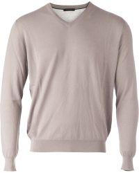 Lamberto Losani | Classic Sweater | Lyst