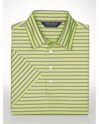 Ralph Lauren Classic-Fit Striped Polo Shirt - Lyst