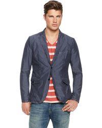 Boss Orange Bleurd  Cotton Blend Jacket with Detachable Hood - Lyst
