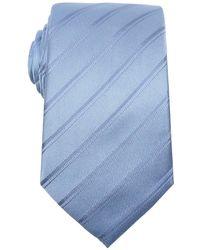 Armani Pervinca Striped Silk Tie - Lyst