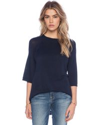 Lonely Silk Knit Tee - Lyst