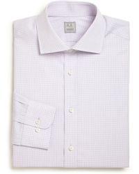 Ike Behar Regular-Fit Check Dress Shirt - Lyst