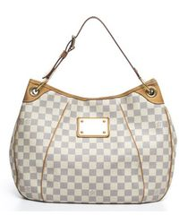 Louis Vuitton Damier Azur Galliera Pm Bag - Lyst